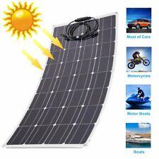 120 Watt Mono Flexible Solar Panel 12V Off Grid Battery Charger for Rv Ma