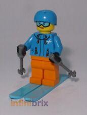 Lego Skier Female Minifigure from set 60222 City Ski, Skiing NEW cty991