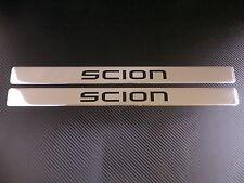 SCION chrome door sills sill plate