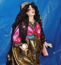 Paradise Galleries, Vintage Porcelain Doll ( Marisa ) and her Crystal Ball