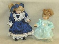 Vintage Small All Porcelain Dolls
