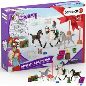 Schleich 2021 Horse Club Advent Calendar with Figures and Accessories