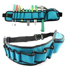 Electrician Carpenter Rig Tool Belt Bag Waist Pocket Tool Pouch Holder Organizer