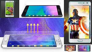 2 x Panzer Folie Samsung Galaxy Note EDGE Schutz Screen Klar Display Kratzfest