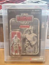 2011 Star Wars AFA U9.0 Boba Fett Prototype Boba Fett Vintage Collection MINT