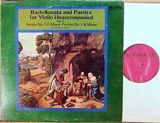 MACE JS Bach HYMAN BRESS Sonatas & Partitas for Solo Violin Vol. 1 MCM-9056
