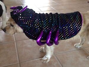 NEW TOP PAW SPIDER DOG COSTUME CLOTHES  PET LG