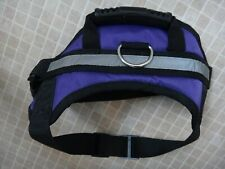 Dog Harness padded & Adjustable Reflective Dog Safety Walking Training new sM