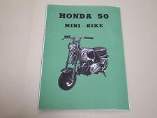 HONDA  Monkey CZ100 parts list English edition New Japan