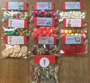 Novelty Christmas Sweets~ Elf Kisses ~Xmas Eve Box ~ Reindeer Food ~Many Choices