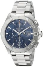 Tag Heuer Aquaracer Calibre 16 Chronograph Auto Blue Dial Watch CAY2112.BA0927