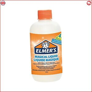 Elmer's Glue Slime Magical Liquid Slime Activator Solution, Ideal for Making Sli