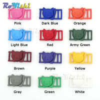 "3/8""(11mm) Colorful Cat-Head Plastic Safty Breakaway Buckles for Cat Collar"