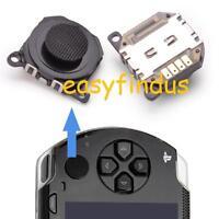 for PSP 1000 series Repair Parts 3d Analog Button thumb cap BLACK new