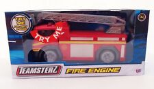 TEAMSTERZ FIRE ENGINE DIE CAST EMERGENCY TOY KIDS TRUCK VEHICLE LIGHTS & SOUNDS