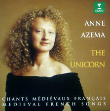 CD ANNE AZEMA - the unicorn, medieval french songs, chants medievaux francais
