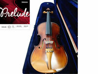 Prelude Strings - 4/4 Antique violin-Boxwood Accessories-Shoulder Rest-Case-Bow