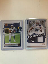 2020 Donruss LOT Jonathan Taylor Rated Rookie CANVAS Rookie Phenoms Jersey PATCH