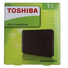 Toshiba Basics USB 2.5 1TB, externa, 5400 Rpm portátil