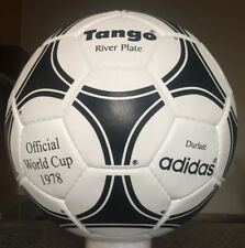 Adidas World Cup 1978 Tango Riverplate Leather Ball-Size 5-Soccerball