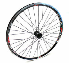 "26"" Shimano Alivio Crosser X3 MTB Mountain Bike Front Wheel V-Brake Disc QR"