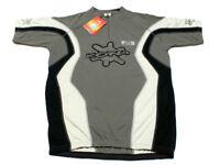 KONA NEW SPIRIT Bike Jersey Short Sleeve XL- XXL - Gray - Men's