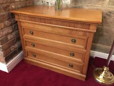 Chest of Drawers - mahogany ascot hotel quality glide runners - used large
