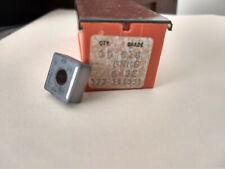 10 PIECES, CARBOLOY, Cemented Carbides Grade 518 SNMG 543E 377 145331