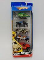"Vintage 1998 Hot Wheels ""Desert Race 1000"" 5 Car Gift Pack 1/64 Die Cast Mattel"