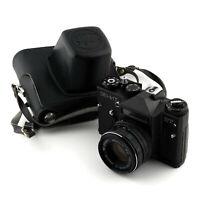 EXC! Zenit ET ⭐ Vintage Film Camera ⭐ M42 Lens MS Helios 44M-7 f2/58mm ⭐ USSR