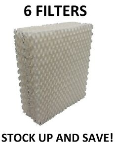 Humidifier Filters for AirCare 1043 Wick Super Bemis Essick Air 6 PACK