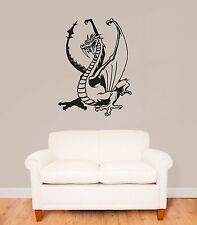 Wall Stickers Vinyl Decal Dragon Fantasy For Children Baby Decor (ig888)