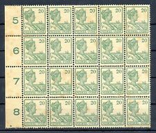 NED INDIE # 120 (20 x) KW € 300  ** MNH PF TROPISCH  TROPIC STAINS  @1