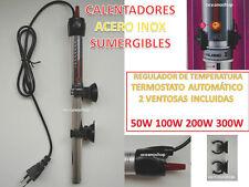 Calentador 100W para acuario y pecera sumergible Termocalentador Tortuguera