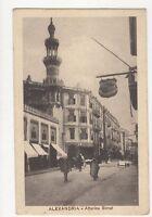 Alexandria Attarine Street North Africa Vintage Postcard 184a
