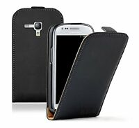 ULTRA SLIM Leather Flip Case Phone Cover for Samsung Galaxy S3 Mini GT-i8190