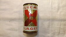 Vintage Lucky Lager Beer Can Flat Top g