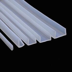 silicone rubber glass seal strip bath shower door window edge trim glazing strip