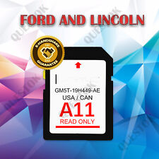A11 FORD LINCOLN   NAVIGATION SD CARD GM5T19H449AE US CANADA