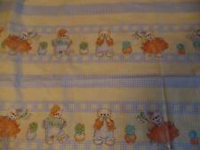 Baumwollstoff mit lustigen Bärenkindern Neu 45 x 200 cm