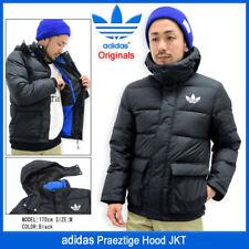 Y BNWT Adidas Originals hacia abajo para Hombre Chaqueta Negro Acolchado Grande Capucha praeztige