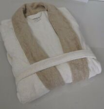 $725! NEW PRATESI Moca Beige Ivory Bath Pool Terry Robe Exquisite! Extra Large