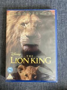 The Lion King (2019) NEW SEALED DVD