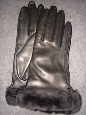 Ugg CLASSIC LEATHER Women's Smart Gloves. M.