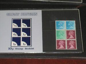 10p Stamp Booklet Presentation Pack  -  6 Stamps