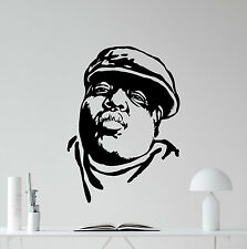 Notorious Big Wall Decal Rap Music Vinyl Sticker Hip Hop Poster Art Decor 353xxx