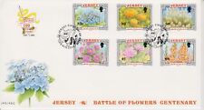 Unaddressed Jersey FDC First Day Cover 2002 Battle of Flowers Set 10% off 5