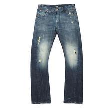 FISHBONE FSBN New Yorker Cotton Slim Jeans Straight Pants Trousers Size W 30 L30