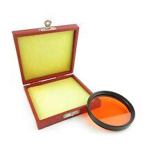 ORIGINALE per Pentacon Six-Filtro giallo arancio 67mm per Zeiss BIOMETAR 120mm