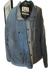 Barbour Xxl Blue Jacket Waterproof & Breathable Very Good Condition